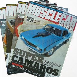 Muscle Car Review 2012/2013 - 14 Hefte
